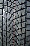 Semelle de pneu de l'hiver Photographie stock