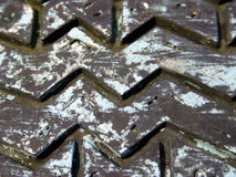 Semelle de zak de zig Image libre de droits