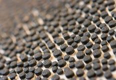 Semelle noire Image stock