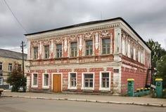 Semen Melnikov house in Bologoye. Tver oblast. Russia Stock Image