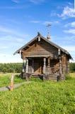SEMENKOVO, ΡΩΣΙΑ - 14 ΑΥΓΟΎΣΤΟΥ 2016: Παρεκκλησι του Elijah προφητών στο μουσείο της ξύλινης αρχιτεκτονικής, Semenkovo, περιοχή V στοκ εικόνα με δικαίωμα ελεύθερης χρήσης