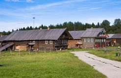 SEMENKOVO, RUSIA - 14 DE AGOSTO DE 2016: museo de la arquitectura de madera, Semenkovo, región de Vologda Rusia Imagenes de archivo