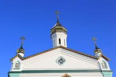 Free Semenovsky Church Cupola On Blue Sky Background Royalty Free Stock Photos - 108381758