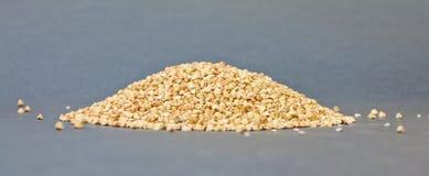 Sementes do trigo mourisco imagens de stock