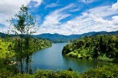 Semenyih Lake. View of Lake Semenyih in Selangor, Malaysia Stock Images