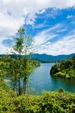 Semenyih Lake. View of Lake Semenyih in Selangor, Malaysia Royalty Free Stock Photography
