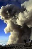 semeru顶部火山 免版税图库摄影