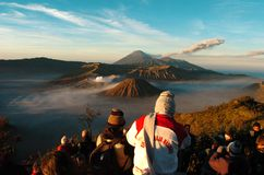 Semeru Royalty Free Stock Image
