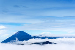 Semeru mount early morning Royalty Free Stock Images