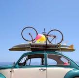 Semester för tur för väg för sommarferie Arkivfoto