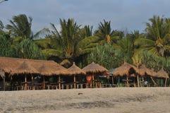 Semester på den Klayar stranden, Pacitan Arkivfoton