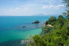 Semester på den Samed ön i Thailand Arkivfoton