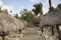 Semester vid havet i Dominikanska republiken arkivfoto