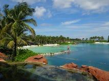 Semesterort för ö för Atlantis hotellparadis Arkivfoto
