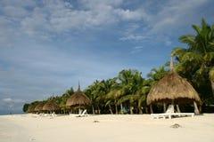 semesterort för 2 strand Royaltyfri Fotografi