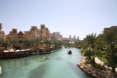 semesterort för aljumeirahqasr Royaltyfri Foto