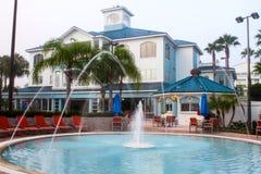 Semesterort för blå gräsplan, Orlando, Florida arkivfoton