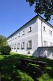 semesterort för croatia franciscan makarskakloster royaltyfri bild
