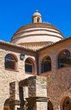 semesterort för croatia franciscan makarskakloster Rocca Imperiale Calabria italy royaltyfria foton