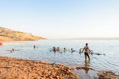 Semesterort för dött hav, Jordanien royaltyfri bild