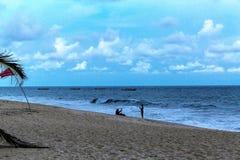Semesterort för LaCampagne strand Lekki Lagos Nigeria Royaltyfri Bild