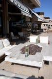 semesterort för uteplats för arizona hotell utomhus- Royaltyfri Foto