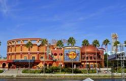 Semesterort Hard Rock Cafe för universella studior royaltyfria foton