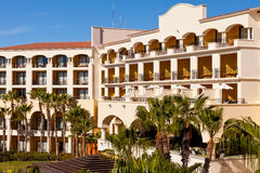 Semesterort i Cabo San Lucas, Mexico Arkivfoton