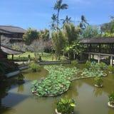 Semesterort i Nusa Dua Bali Indonesien Arkivfoto