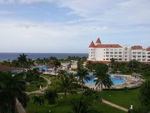 Semesterort Jamaica Royaltyfri Foto