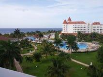 Semesterort Jamaica Arkivfoto