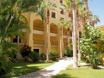 Semesterort och Spa för golf för drömLos Cabos följen i Mexico Royaltyfria Bilder