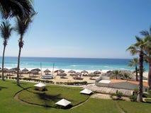 Semesterort och Spa för golf för drömLos Cabos följen i Mexico royaltyfria foton