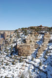 Semesterort på den södra kanten av Grand Canyon Royaltyfria Bilder