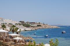 semesterort på Röda havet Arkivbilder