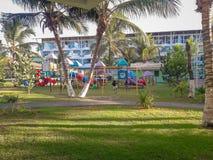 Semesterort Porto de Galinhas, Brasilien tropisk härlig semesterort royaltyfria bilder