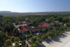 SemesterortCharela gästgivargård Negril Jamaica Arkivbild