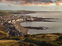 Semesterorten av Aberystwyth Royaltyfri Foto