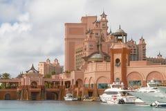 Semesterorten för Atlantis paradisö i Nassau, Bahamas Royaltyfria Bilder