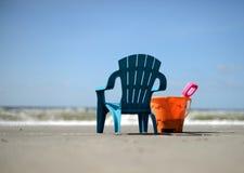 Semestertid och strand Royaltyfri Foto