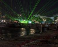 Semestra festmåltiden på tillfället av dagen av Varna havshuvudstaden av Bulgarien - en officiell ferie på Augusti 15th Datumcoie Arkivbild