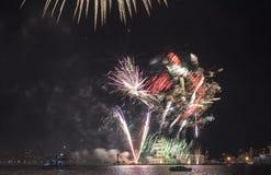 Semestra festmåltiden på tillfället av dagen av Varna havshuvudstaden av Bulgarien - en officiell ferie på Augusti 15th Datumcoie Royaltyfri Fotografi