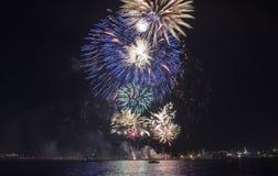 Semestra festmåltiden på tillfället av dagen av Varna havshuvudstaden av Bulgarien - en officiell ferie på Augusti 15th Datumcoie Arkivfoton