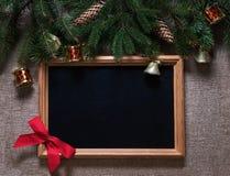 Semestra julleksaker på filialer av en julgran Royaltyfria Foton