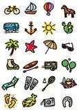 semestrar symboler Arkivbild