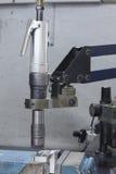 Semi автоматическая машина винта крана на верхней части Стоковые Изображения RF