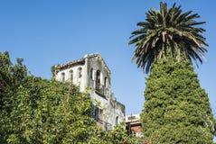 Semi-abandoned picturesque Prado neighborhood in Montevideo Stock Image
