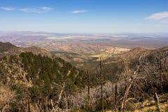Semi-arid landscape Royalty Free Stock Image