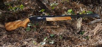 Semi auto gun Royalty Free Stock Photo
