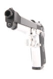 Semi Auto handgun Royalty Free Stock Photo